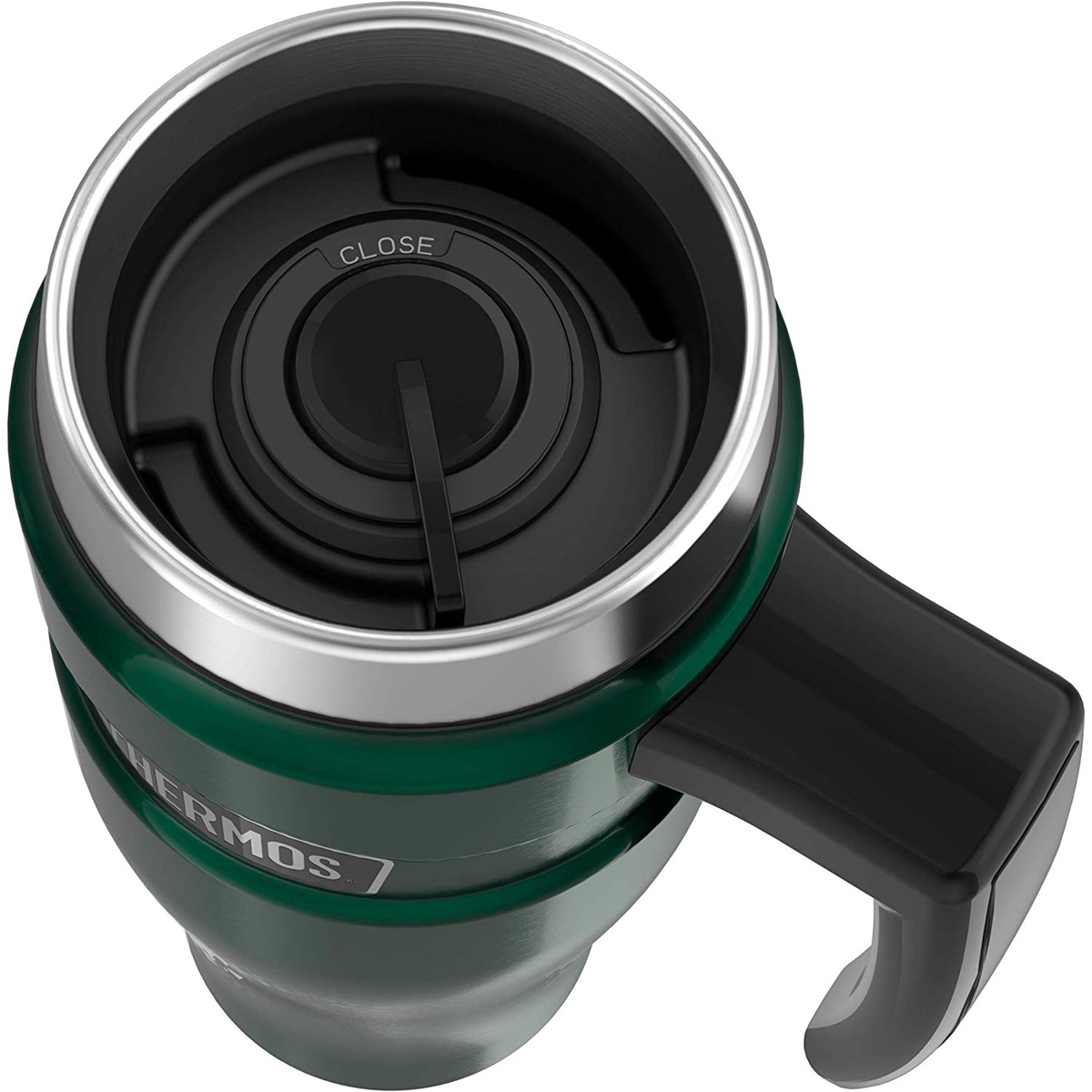 thumbnail 13 - Thermos 16 oz. Stainless King Insulated Stainless Steel Travel Mug with Handle