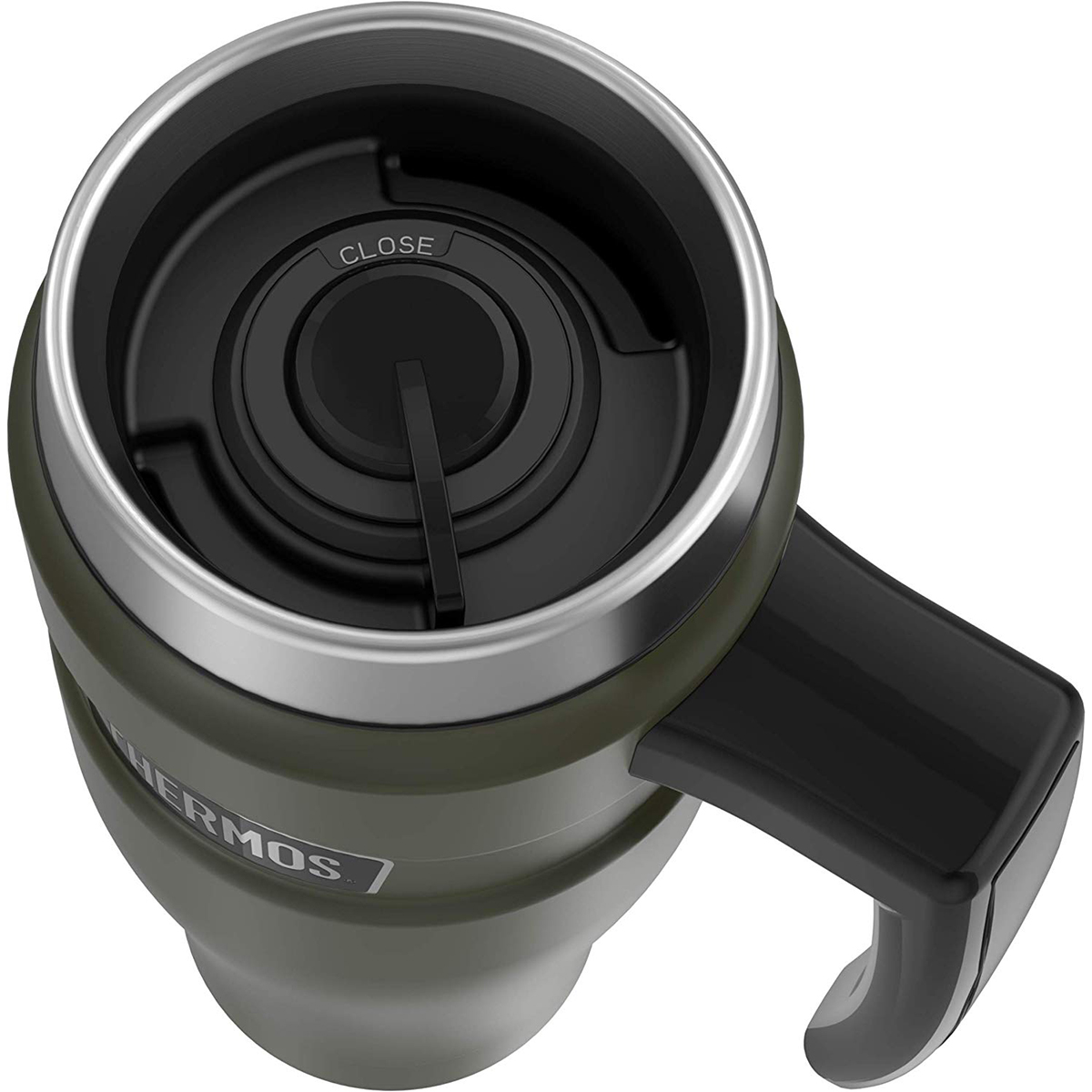 thumbnail 17 - Thermos 16 oz. Stainless King Insulated Stainless Steel Travel Mug with Handle