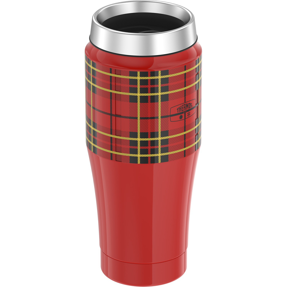 thermos 16 oz vacuum insulated stainless steel travel tumbler ebay. Black Bedroom Furniture Sets. Home Design Ideas
