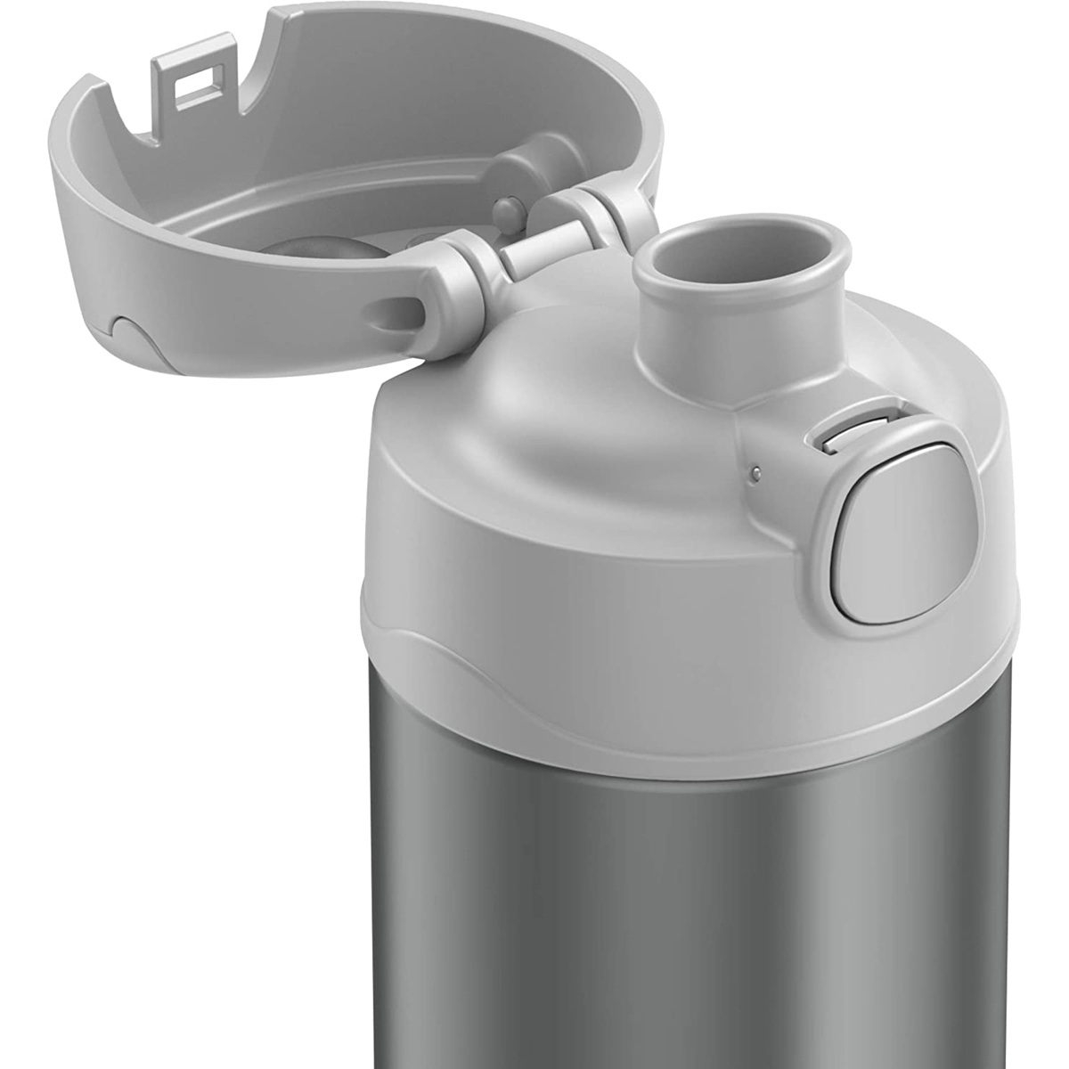 thumbnail 6 - Thermos-16-oz-Kid-039-s-Funtainer-Vacuum-Insulated-Stainless-Steel-Water-Bottle