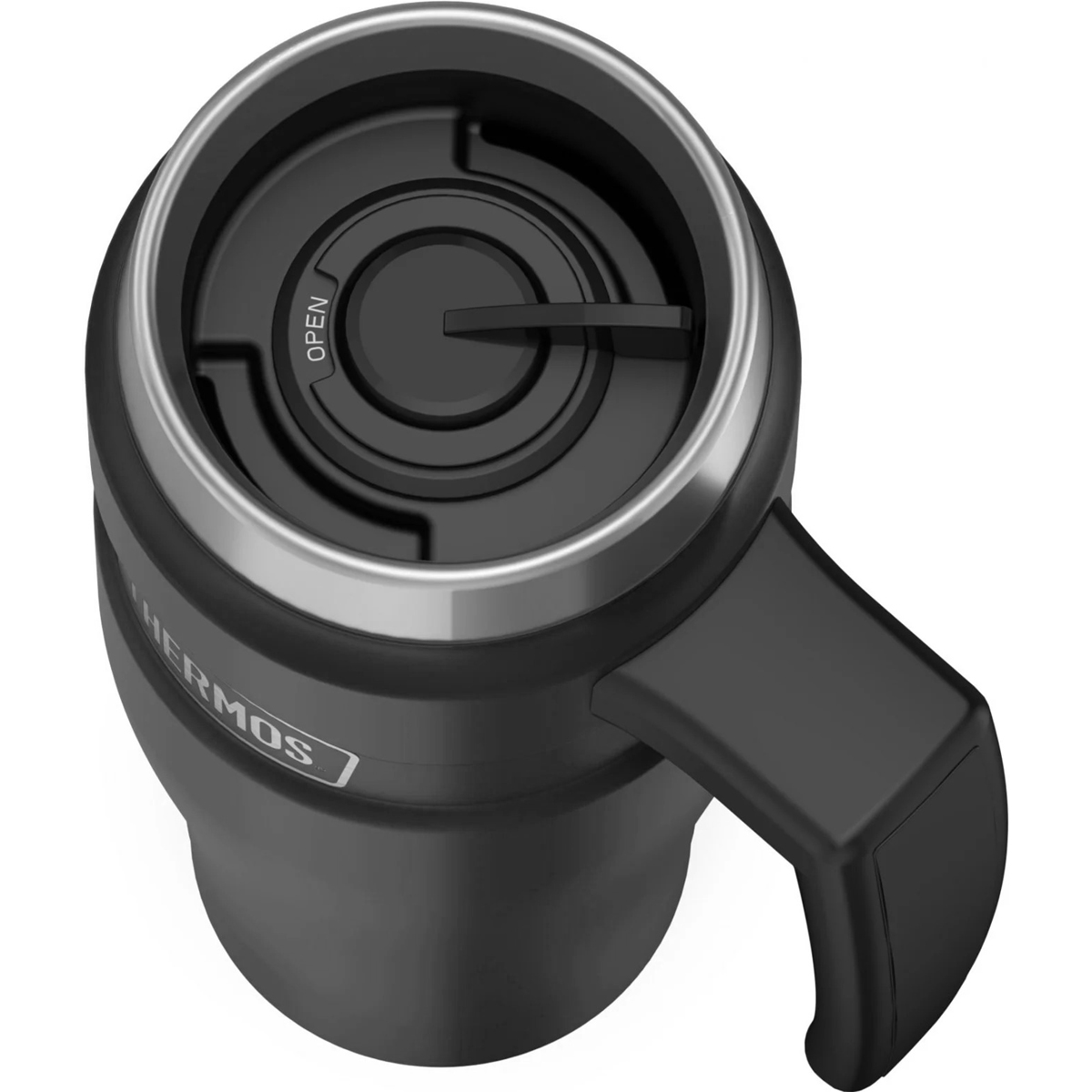thumbnail 4 - Thermos 16 oz. Stainless King Insulated Stainless Steel Travel Mug with Handle