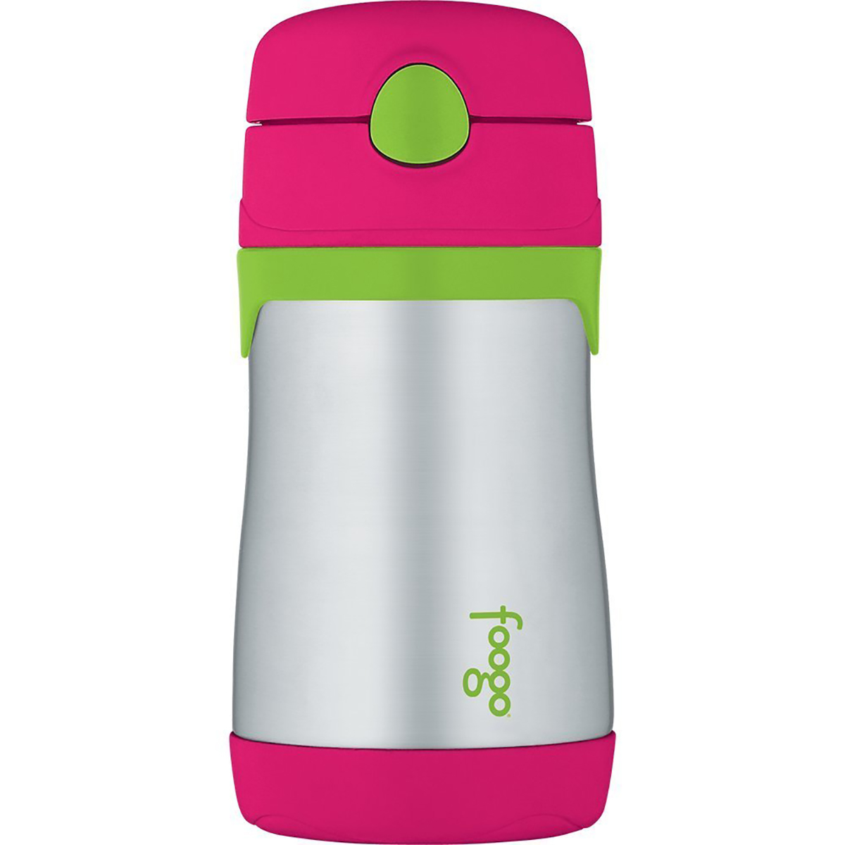 Thermos-10-oz-Kid-039-s-Foogo-Phases-Insulated-Stainless-Steel-Straw-Water-Bottle