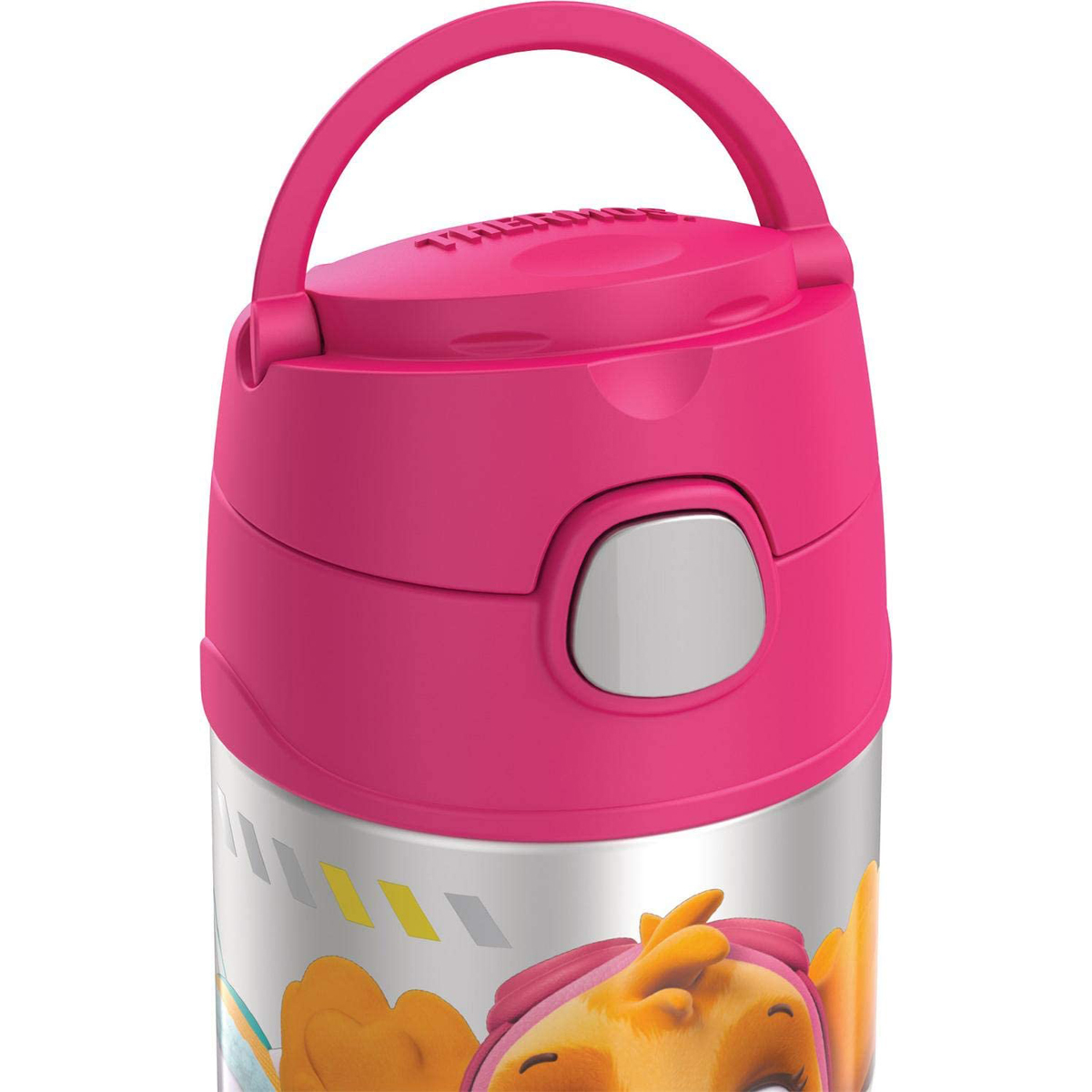 thumbnail 28 - Thermos-12-oz-Kid-039-s-Funtainer-Vacuum-Insulated-Stainless-Steel-Water-Bottle