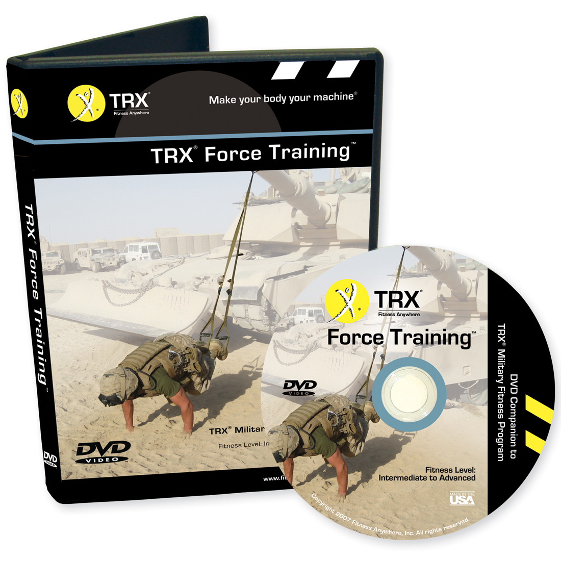 trx military force training fitness dvd and workout guide rh ebay com TRX Demo trx force training guide pdf download free