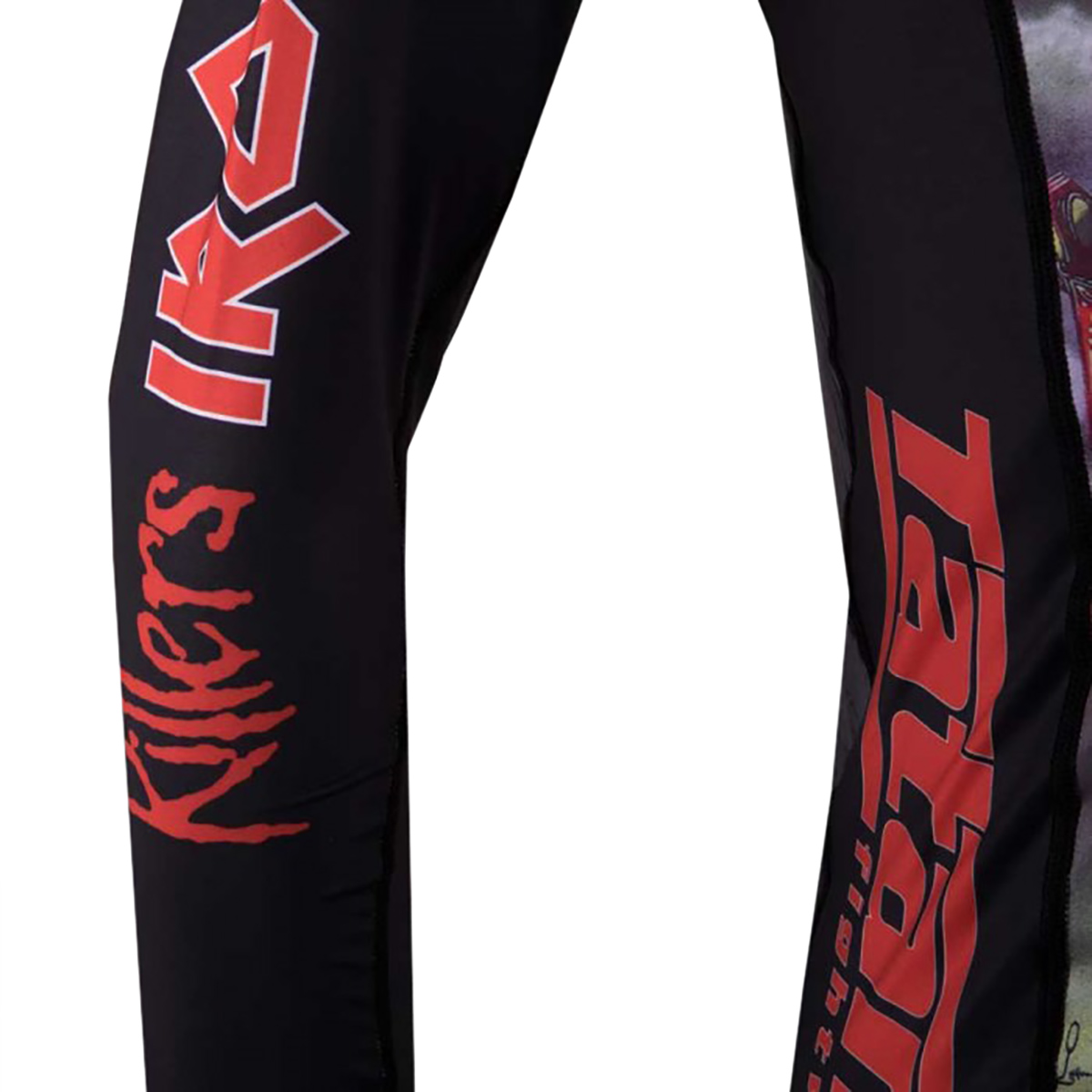 Tatami Iron Maiden The Killers MMA BJJ Jiu Jitsu LongSleeve LS Rashguard Rash