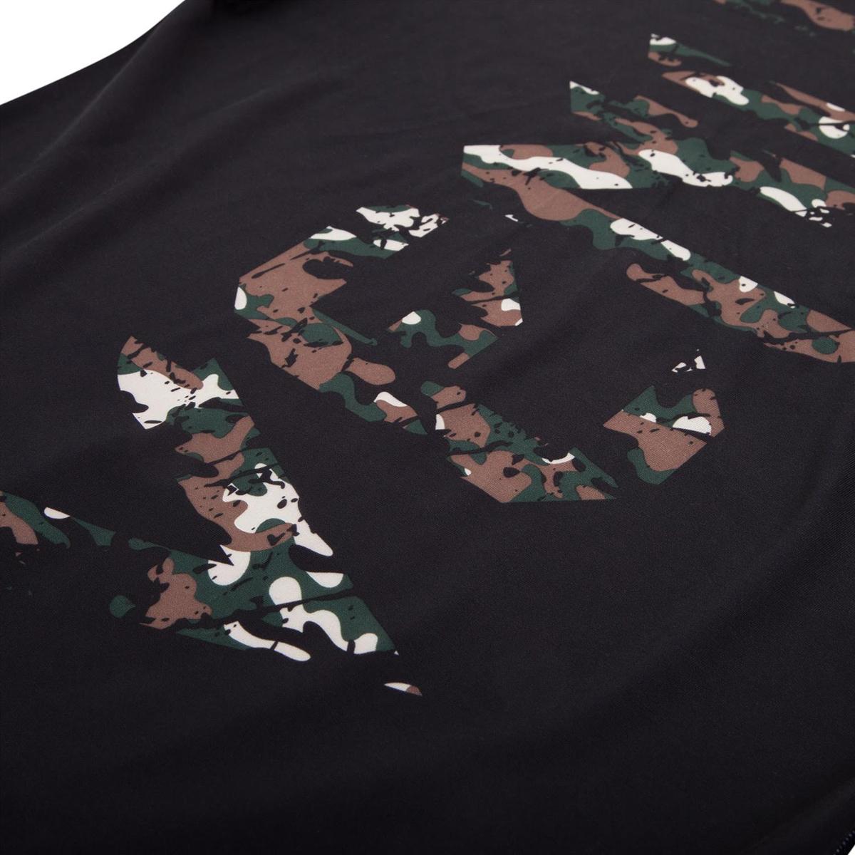 Jungle Camo Venum Original Giant Short Sleeve Rashguard
