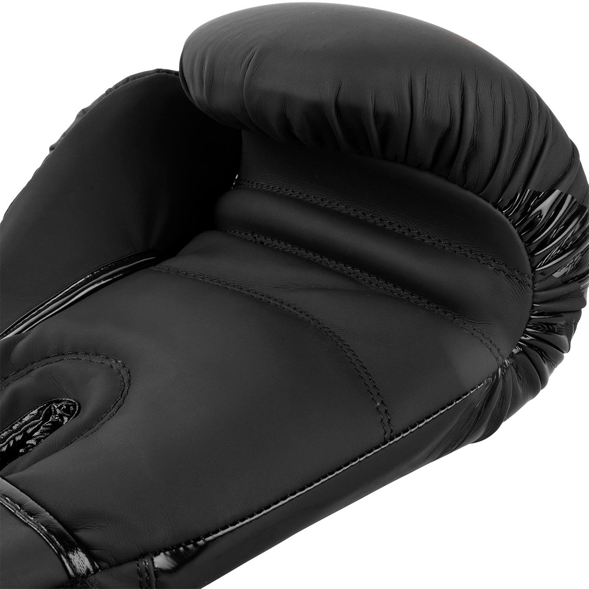Black//Gold Venum Contender Hook and Loop Training Boxing Gloves