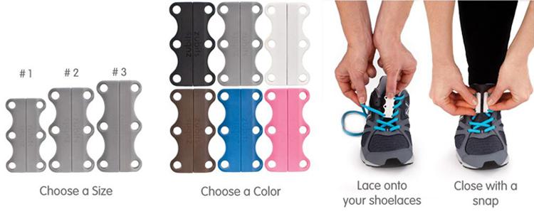 Zubits Magnetic Shoe Lace Closure System