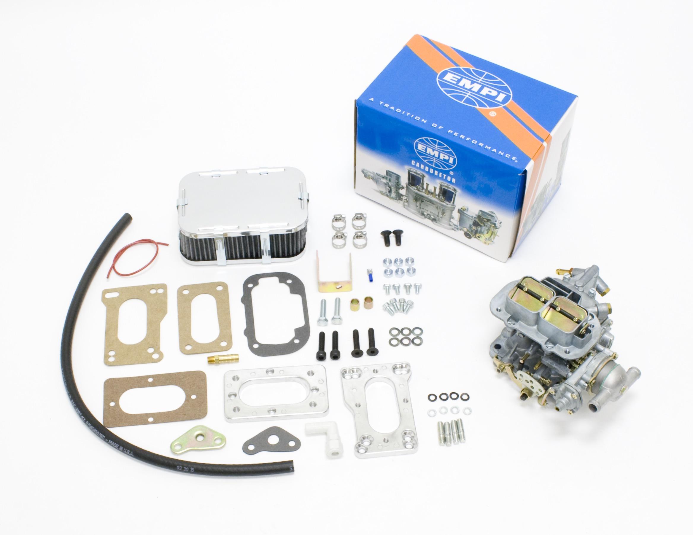 Empi carburetor Instruction manual