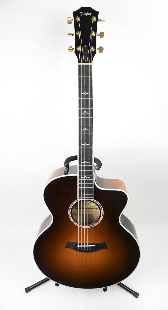 taylor guitars 615ce jumbo acoustic electric guitar ebay. Black Bedroom Furniture Sets. Home Design Ideas
