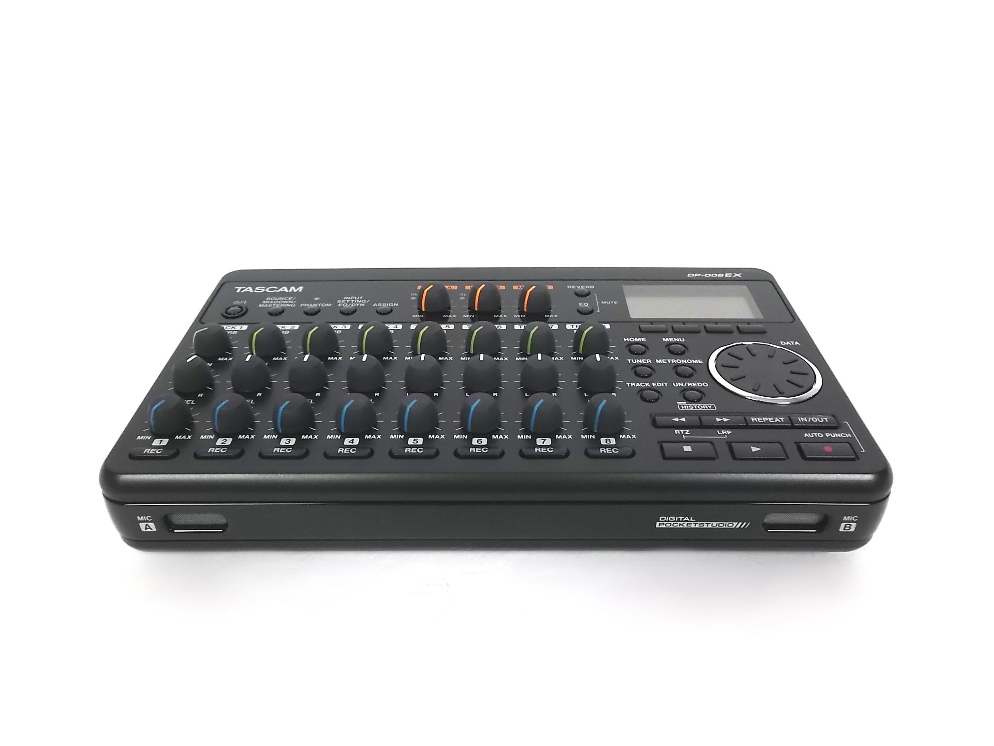 tascam dp 008ex digital portastudio 8 track portable multi track recorder mint ebay. Black Bedroom Furniture Sets. Home Design Ideas