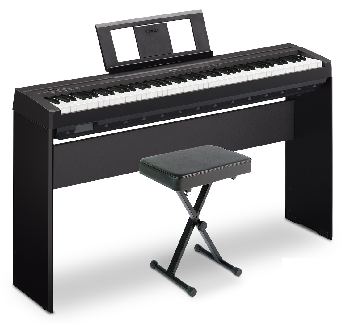 yamaha p 45 88 key weighted action digital piano black