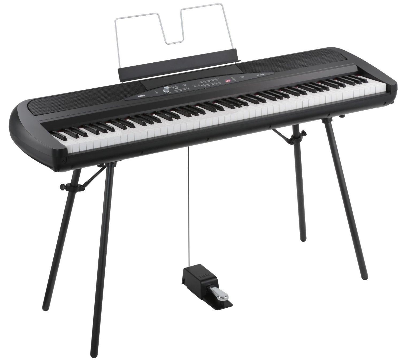 korg sp280bk 88 key digital piano with speaker ebay. Black Bedroom Furniture Sets. Home Design Ideas
