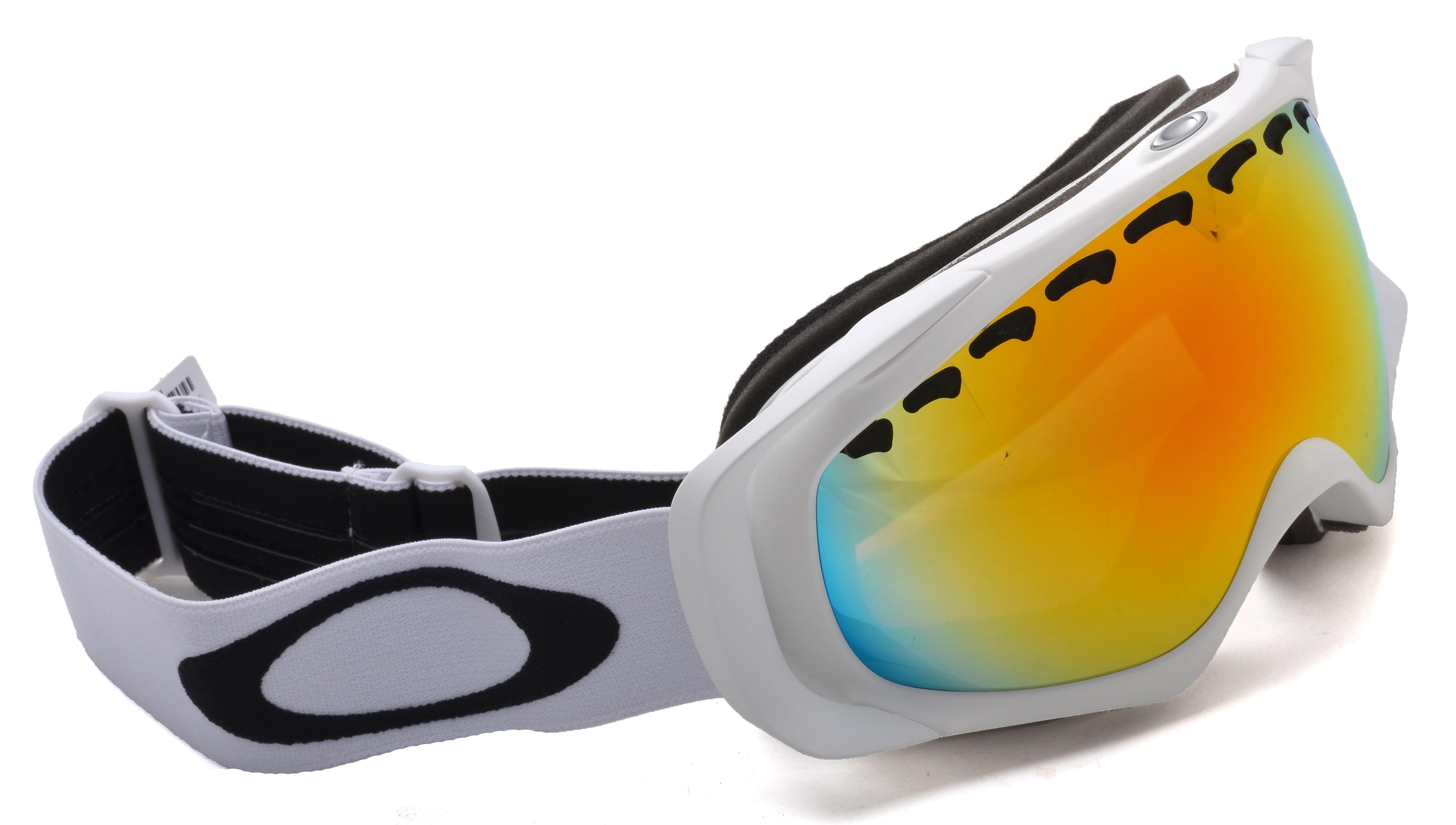 103ede66f485 Oakley A Frame Snow Goggle Matte White Fire « Heritage Malta