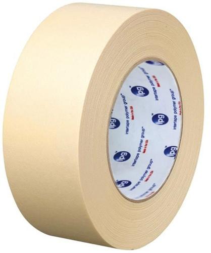 "1 Case Intertape PG48 Premium Paper High Temp Masking Tape 3/""x60 yds 16 Rolls"