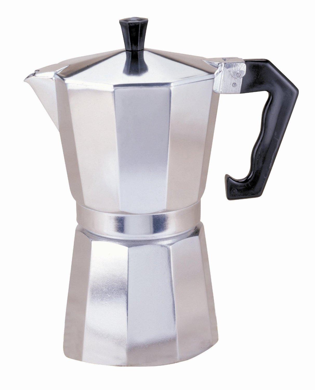 Primula Aluminum 1 Cup Stovetop Espresso Maker Latte Mocha