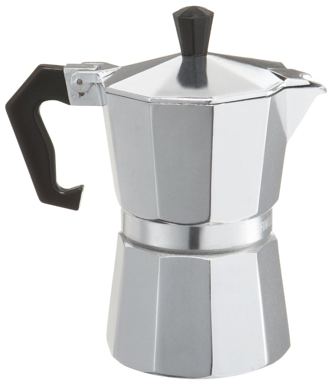 Primula Aluminum 3 Cup Stovetop Espresso Maker Latte Mocha