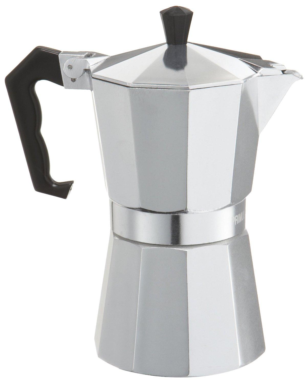 Primula Aluminum 6 Cup Stovetop Espresso Maker Latte Mocha