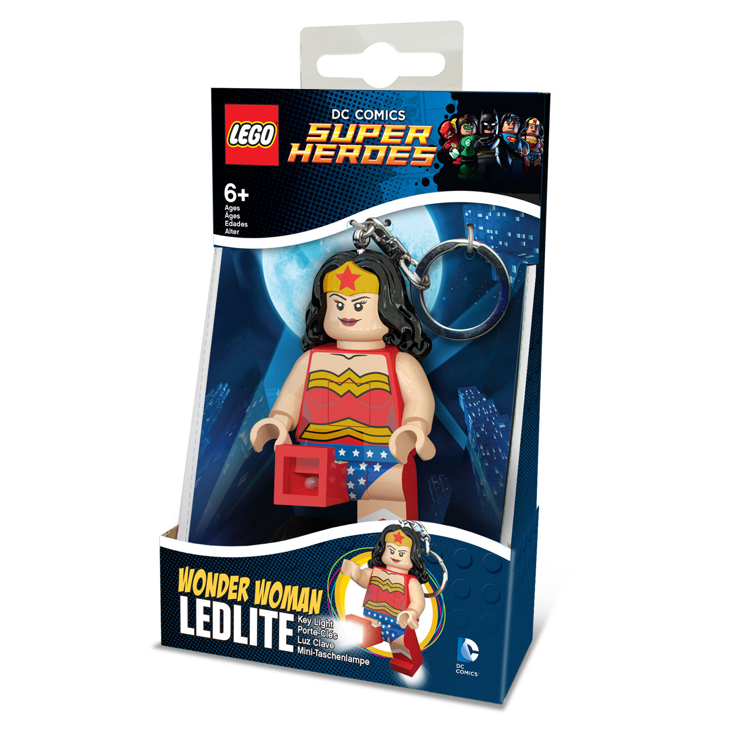 Santoki LEGO DC Super Heroes LED Lite Key Light Keychain ...