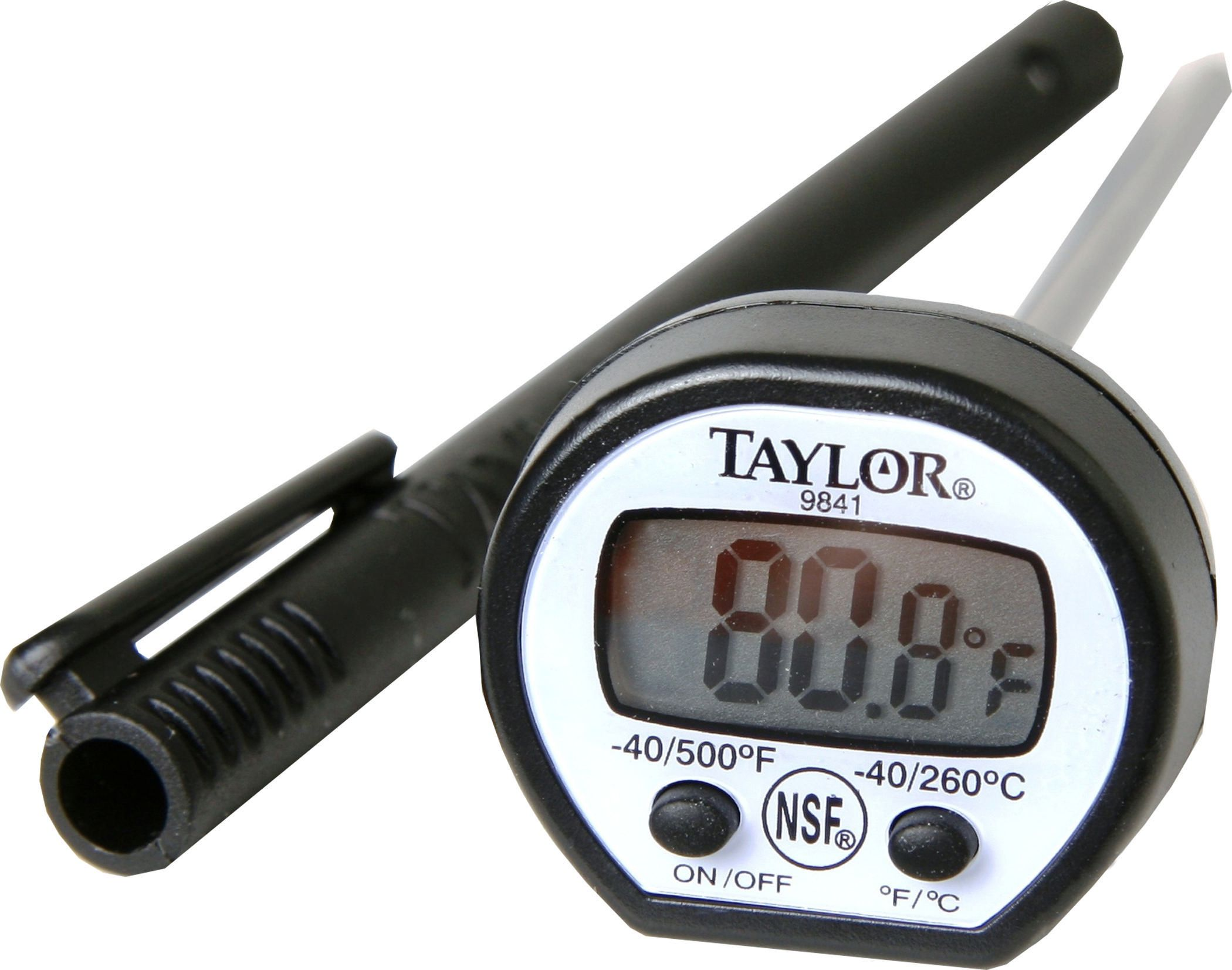 Taylor New High Temperature Instant Read Pocket Thermometer ...