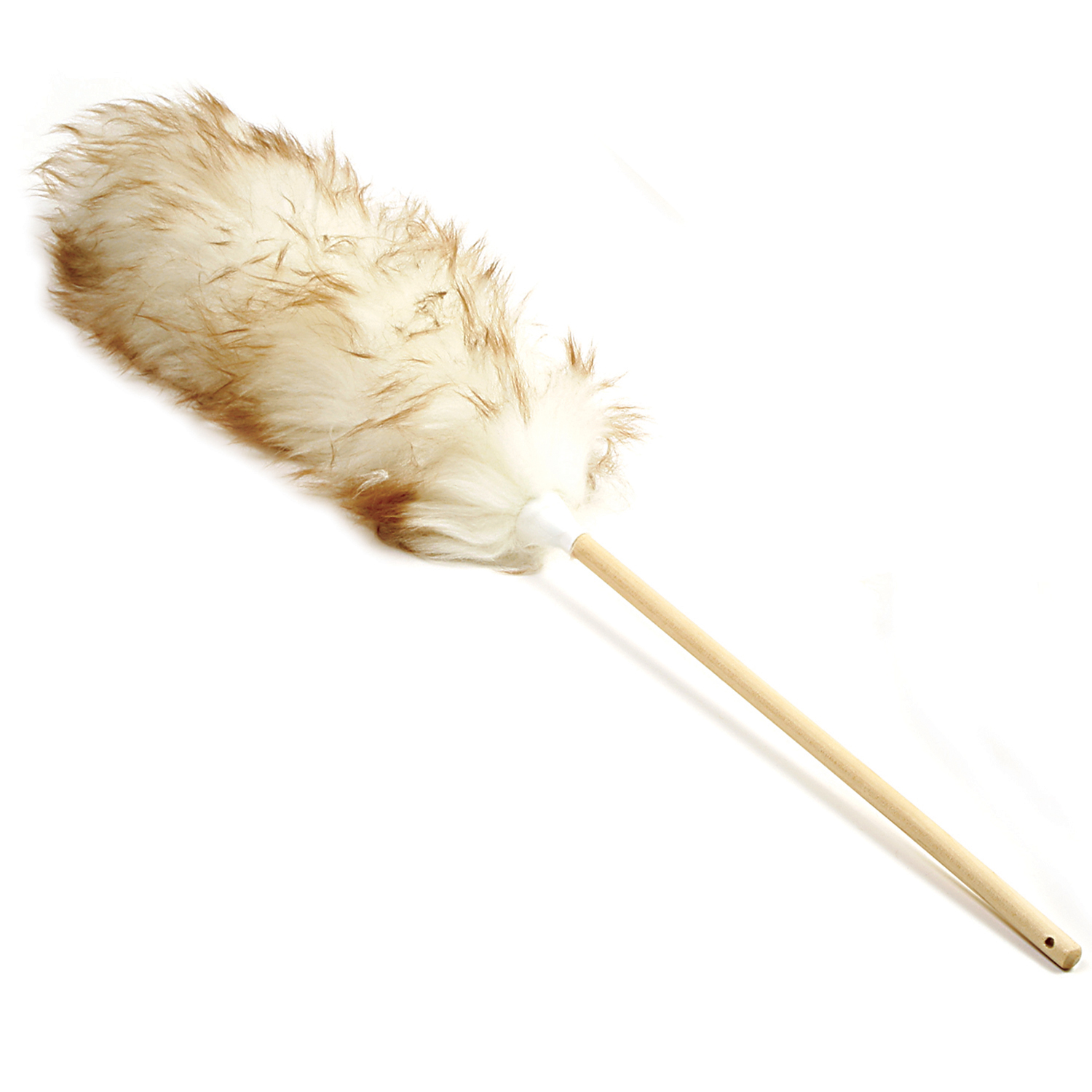 Norpro New 24 Quot Pure Lambs Wool Cobweb Duster Wood Handle
