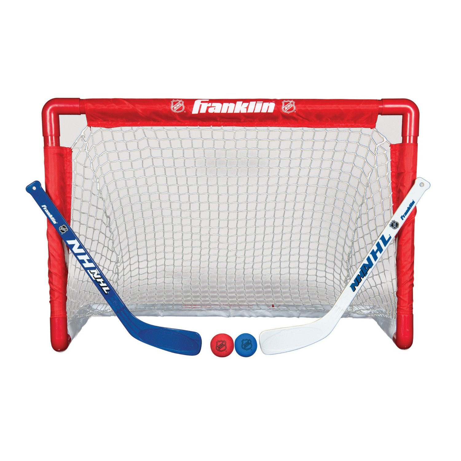 Franklin Sports Indoor Outdoor Youth Mini Hockey Goal ...