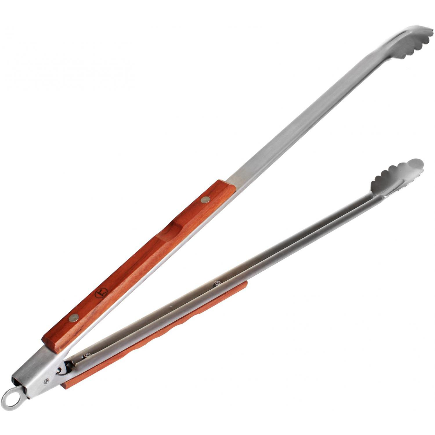 D D Tongs: Fox Run Outset Extra Long Stainless Steel Barbecue BBQ