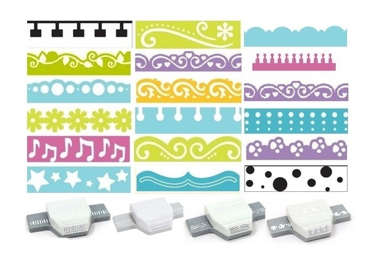 EK Success Scallop  Paper Shaper Punch Scrapbook Tool SELECT YOUR DESIGN!