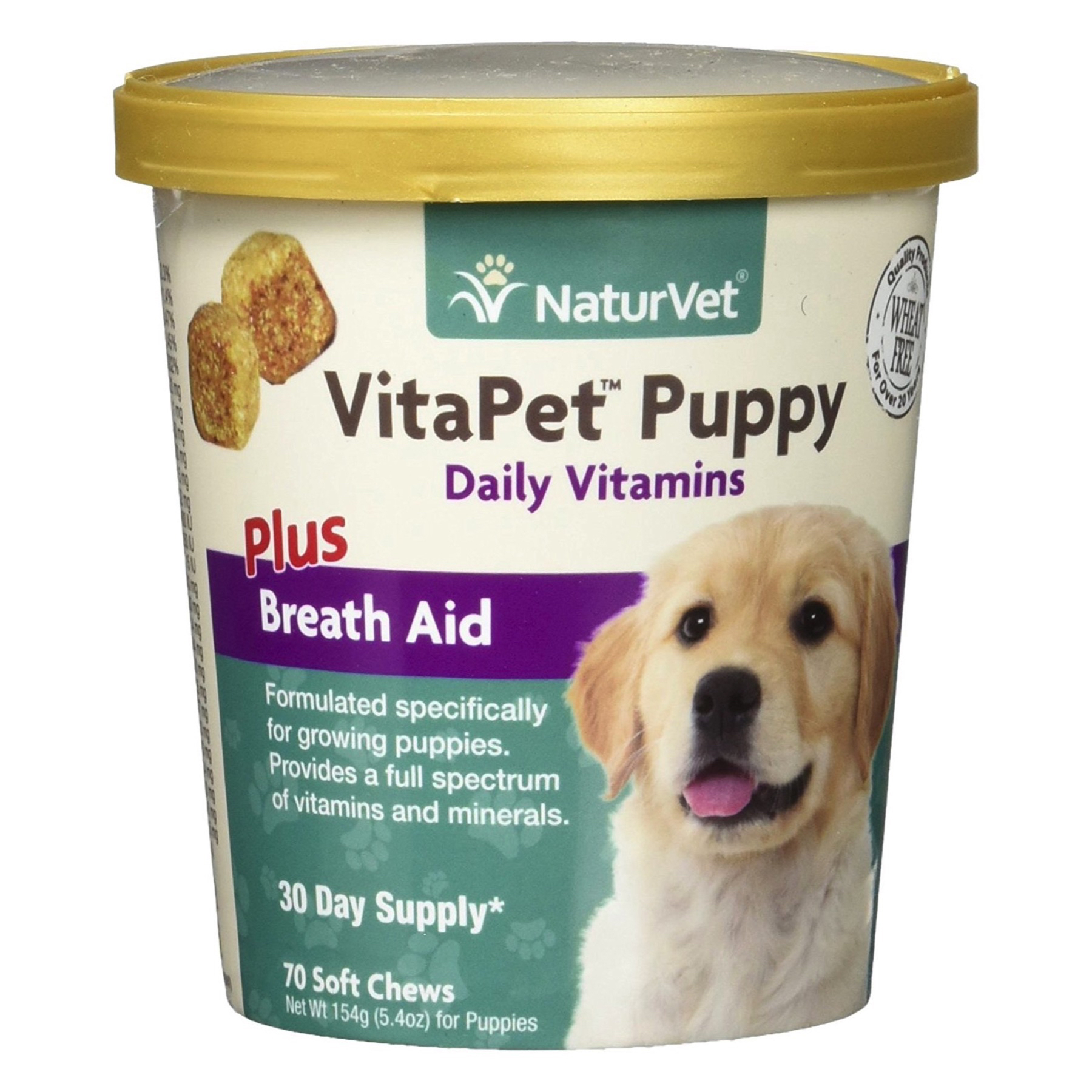 Naturvet Vitapet Dog And Puppy Breath Aid Soft Chews Formulated