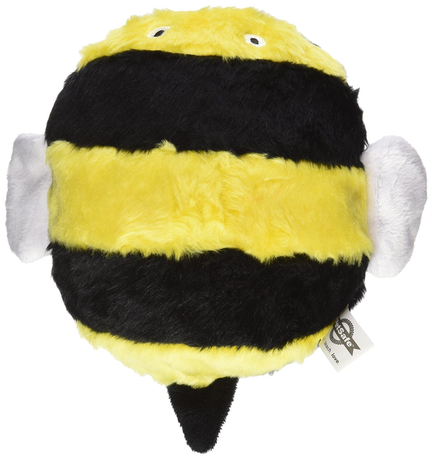 PetSafe Busy Buddy POGO PLUSH Dog Toy Squeaking Plush Bee Medium ... | Busy Bee Dog Toy