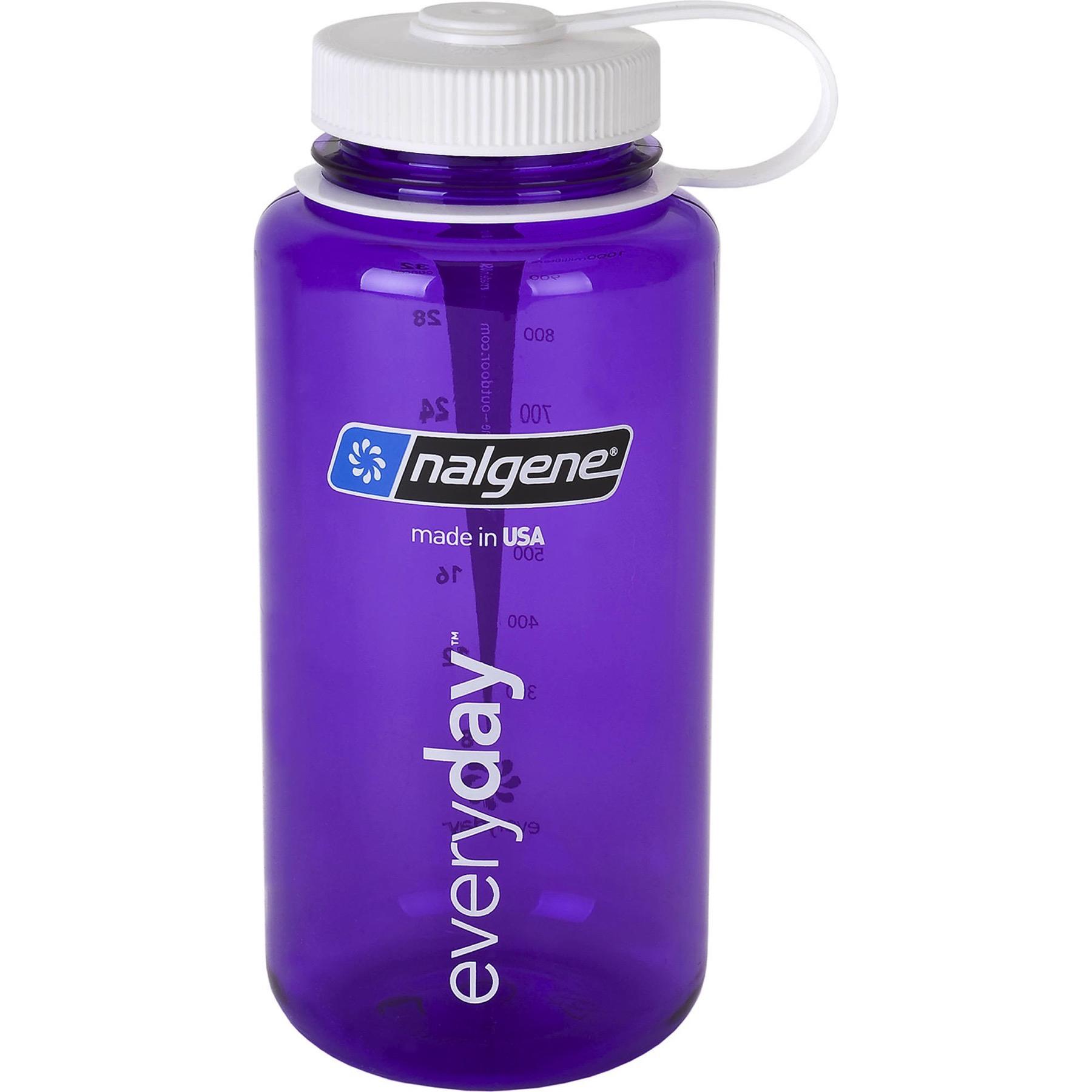 Nalgene Tritan 32oz Plastic Water Bottle Purple w/White ...