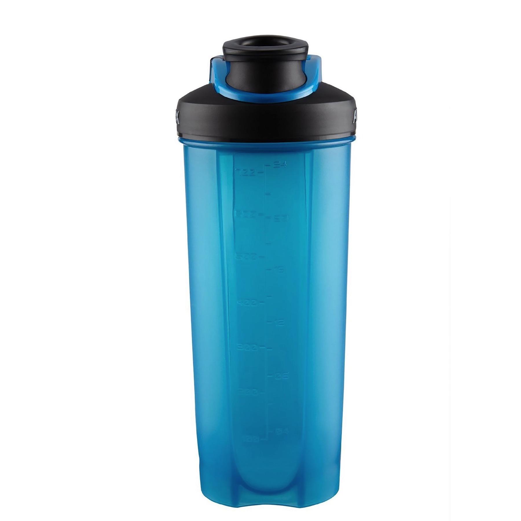 Protein Shaker Net: Avex MixFit Shaker 28oz Blue/Black W/Electric Blue