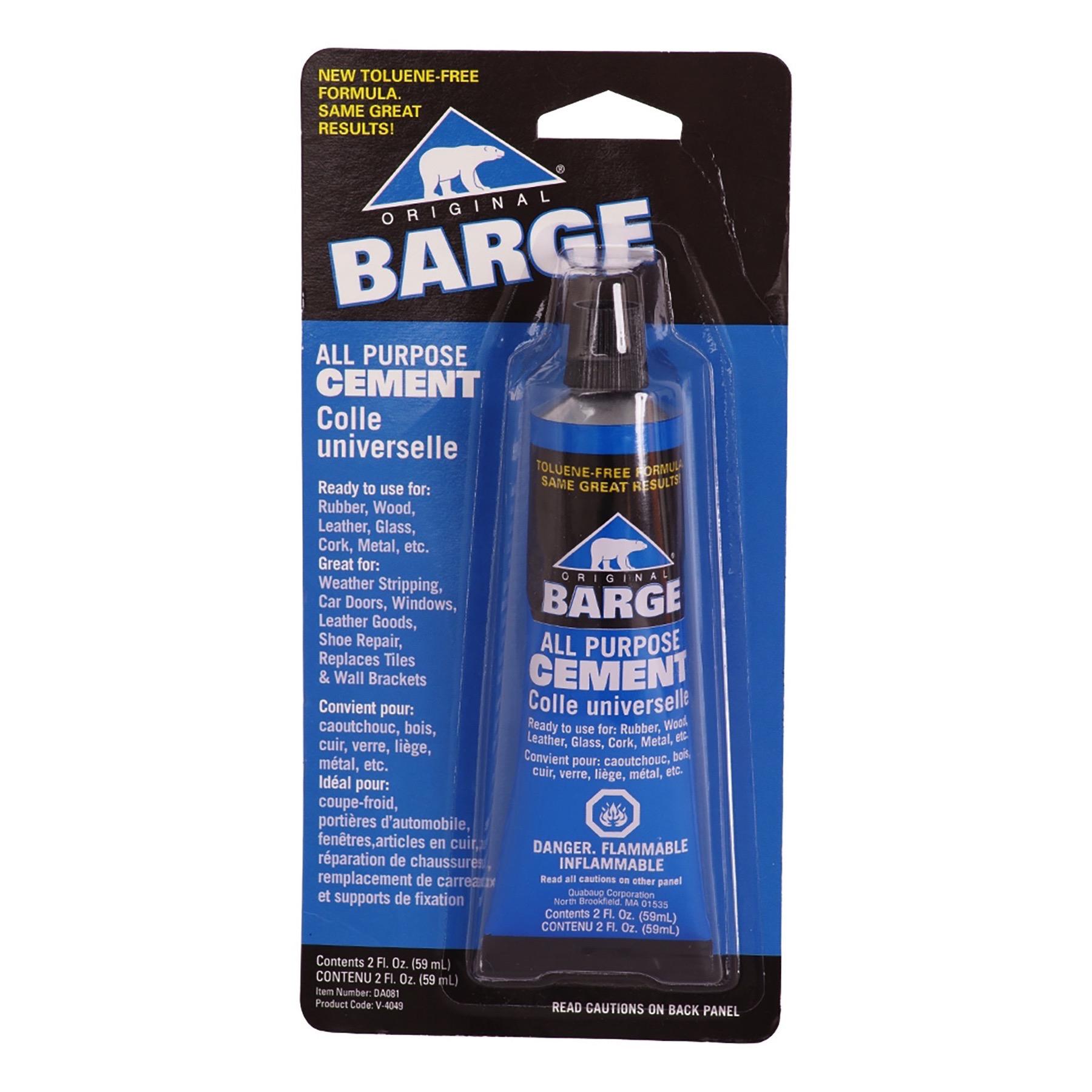 Barge Original All Purpose Cement 2oz Tube Adhesive Glue