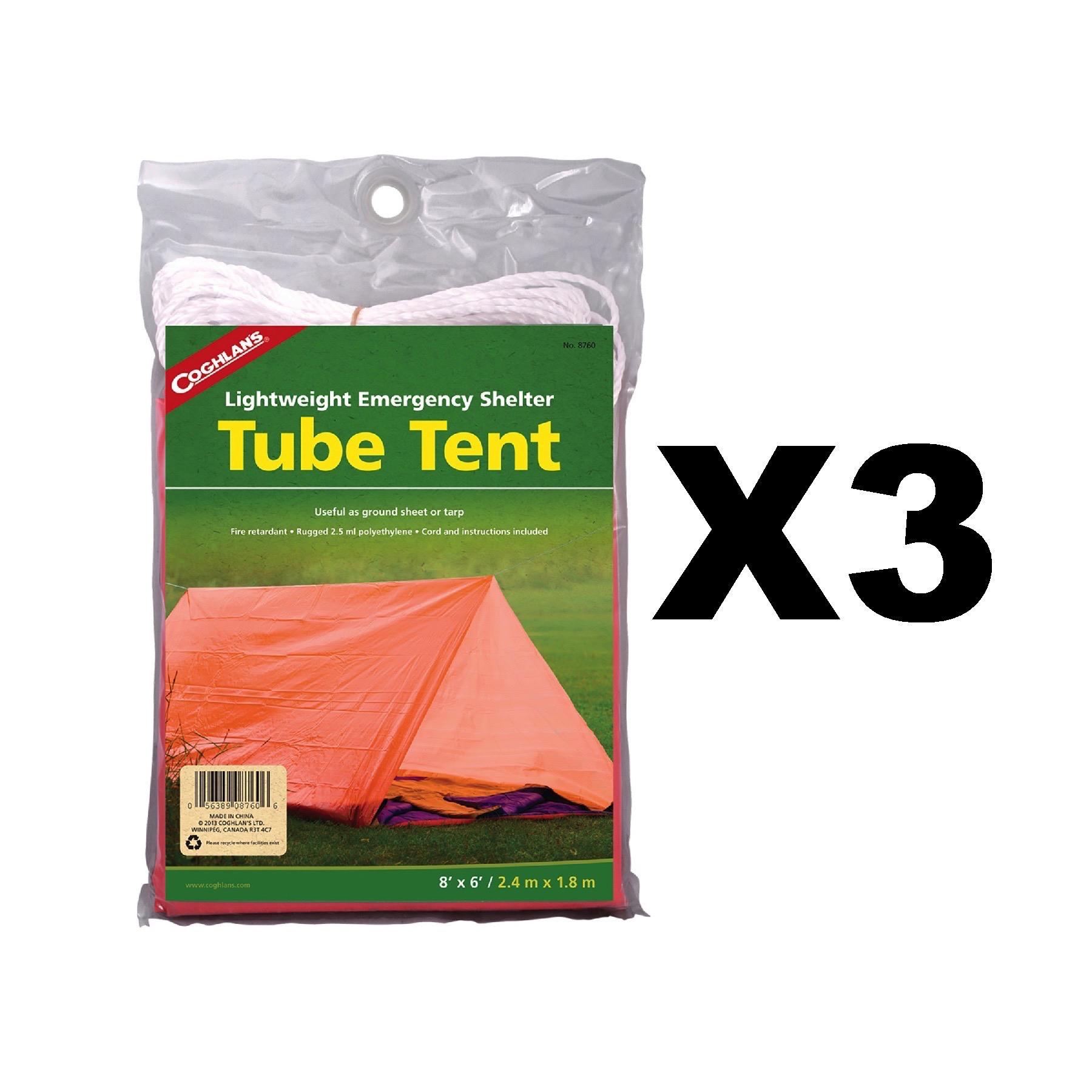 Image is loading Coghlan-039-s-Tube-Tent-Emergency-Lightweight-Polyethylene-  sc 1 st  eBay & Coghlanu0027s Tube Tent Emergency Lightweight Polyethylene Camping ...