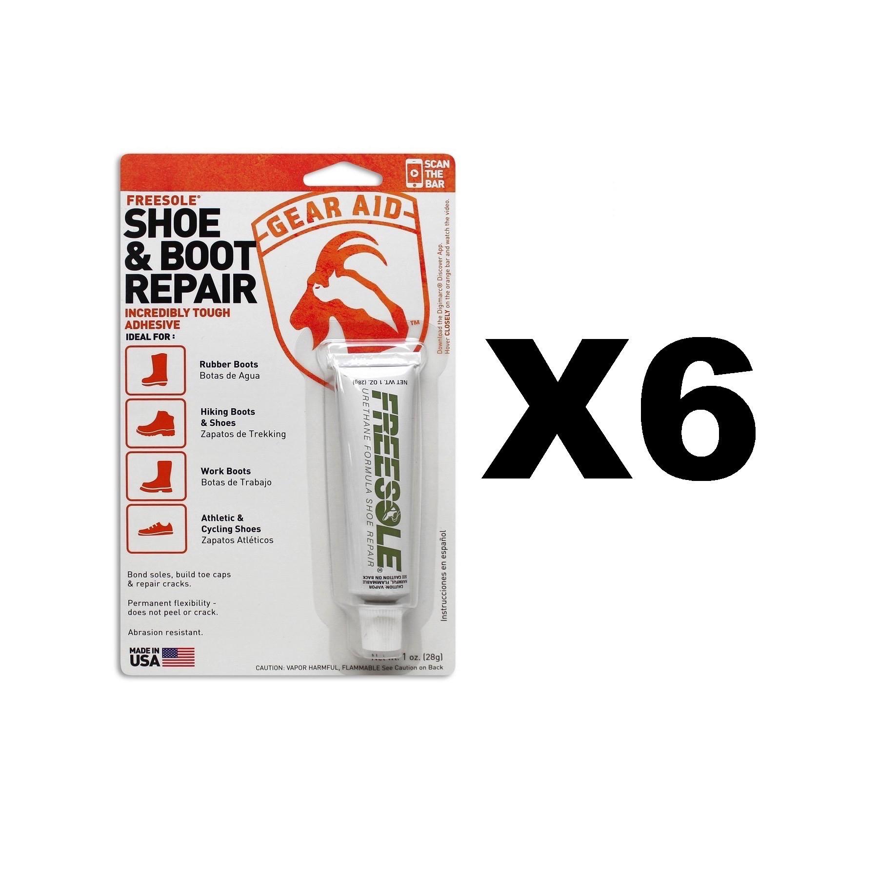 mcnett gear aid freesole shoe boot repair 1oz clear