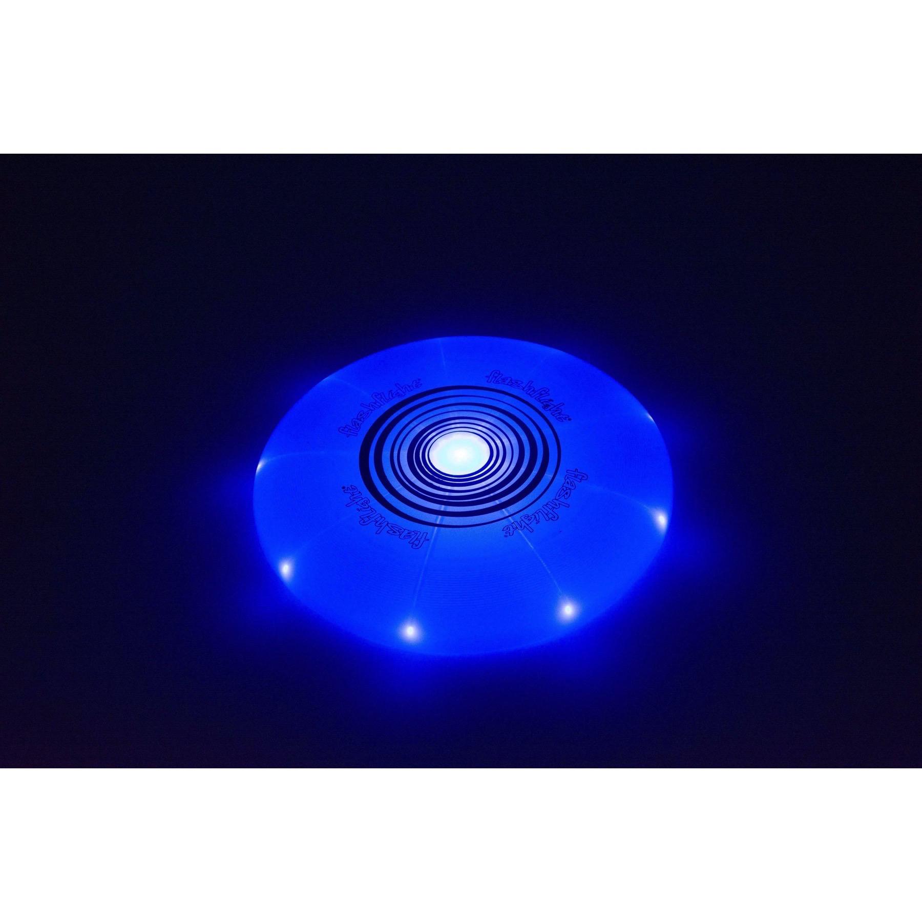 Nite Ize Flashflight Led Light Up Flying Disc Blue