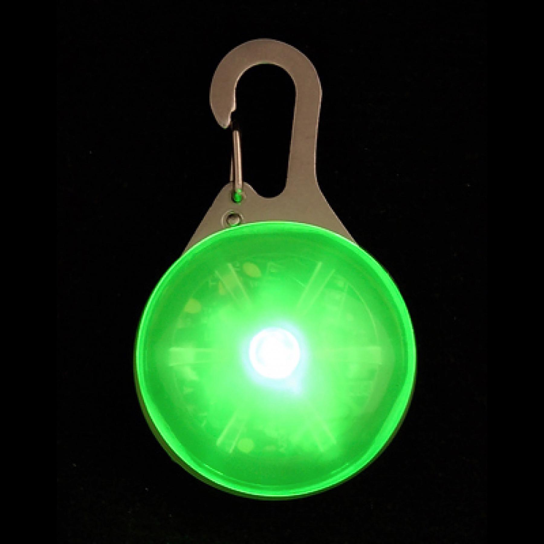 Nite Ize Spotlit Led Carabiner Light Green Mini Keychain