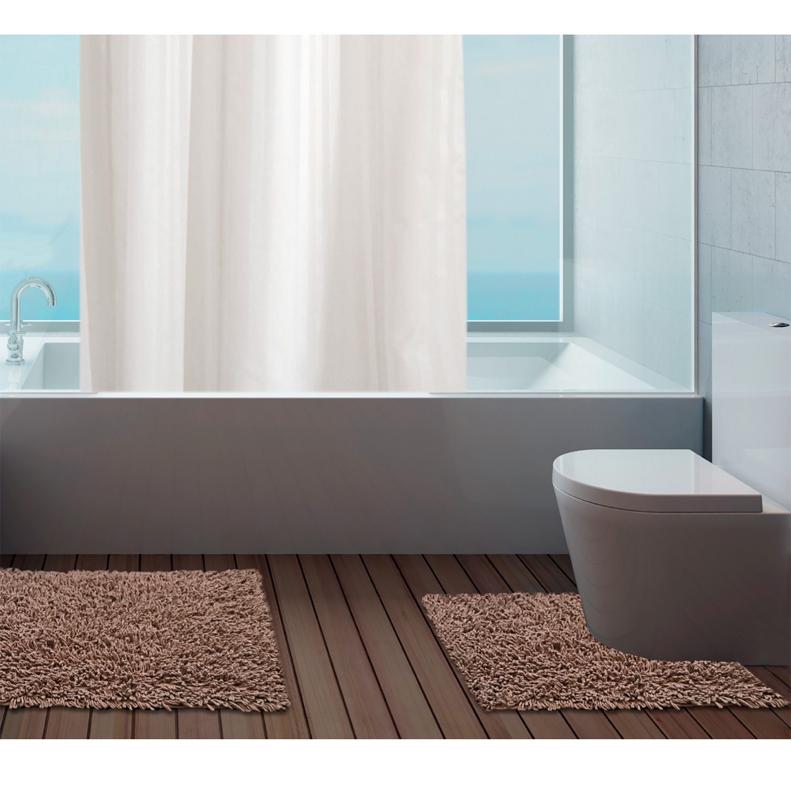 Bath Mats  Bathroom Shower amp Pedestal Mats  MampS
