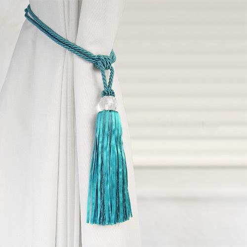 Crystal Beaded Tiebacks Tassel Curtain Tie Backs Tieback