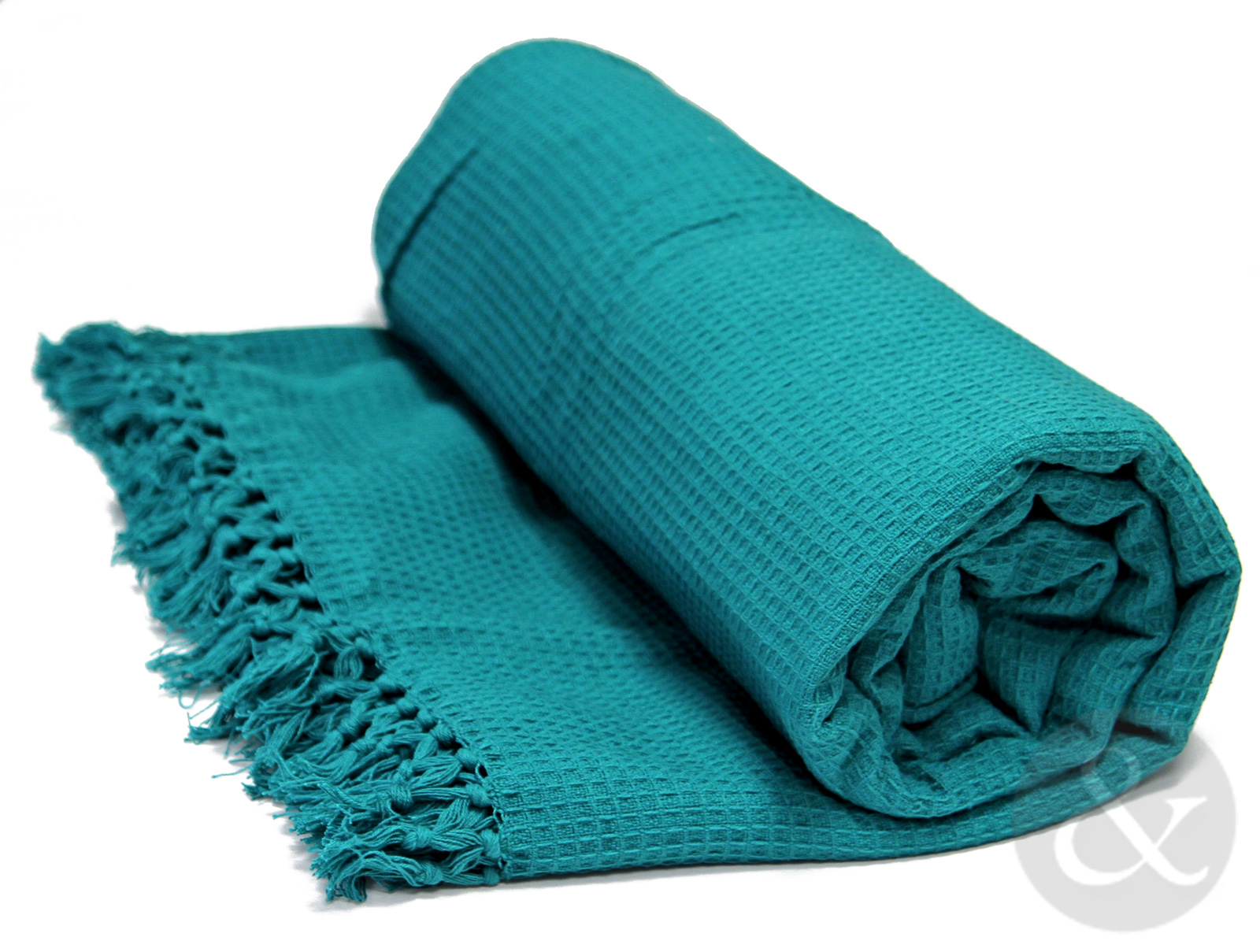 Soft 100% Cotton Honey b Throw With Tasselled Edge Sofa Cover