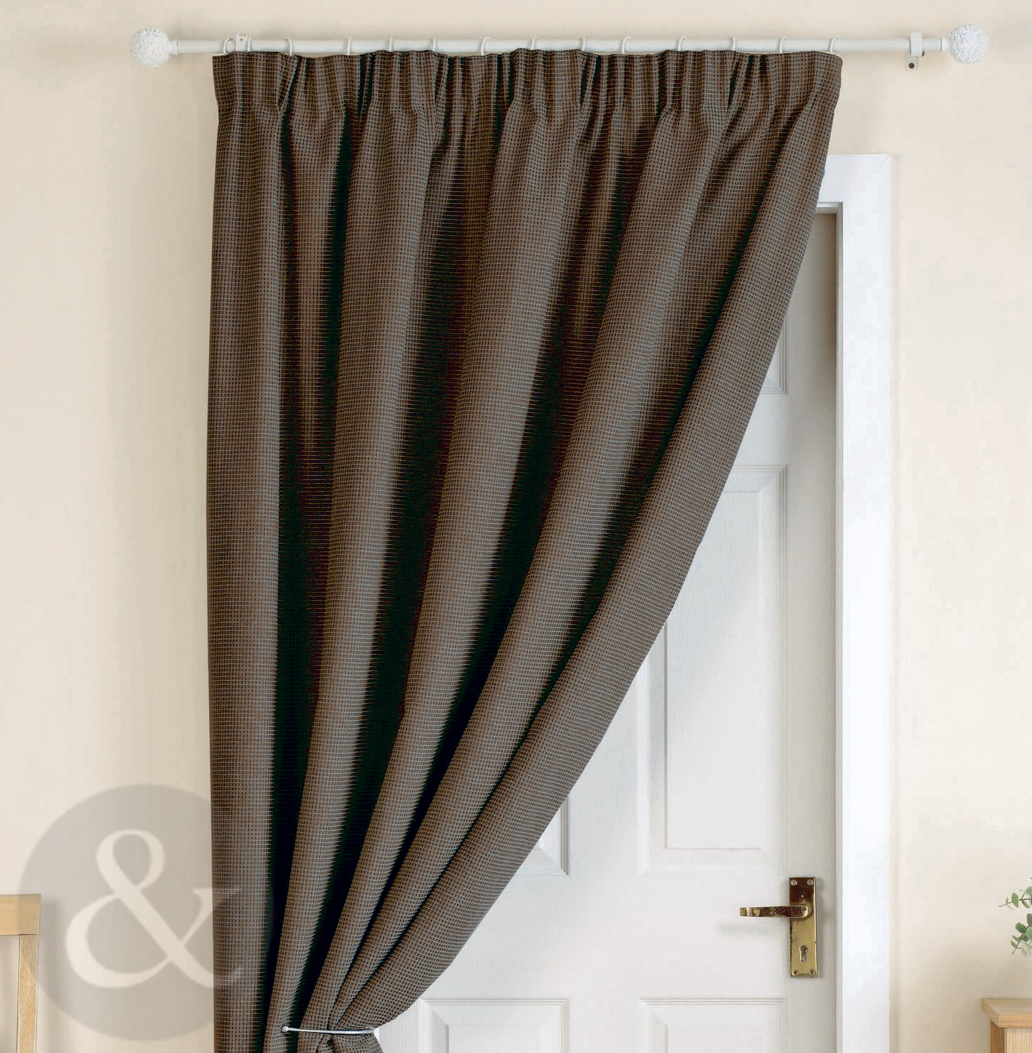 Entrance Door Privacy Panels Curtains : Heavy thermal curtain lining menzilperde