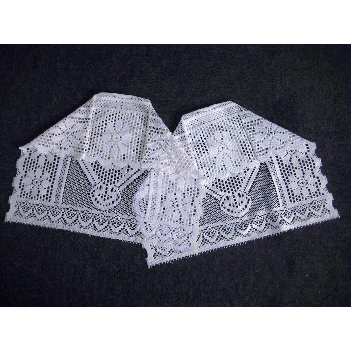 Traditional Lace Arm Caps - Floral Jacquard Lace Sofa ...