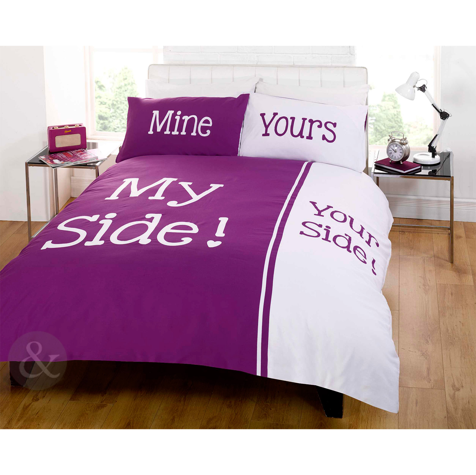 Fun Bedtime Couple Humour Duvet Quilt Cover - Ideal ...