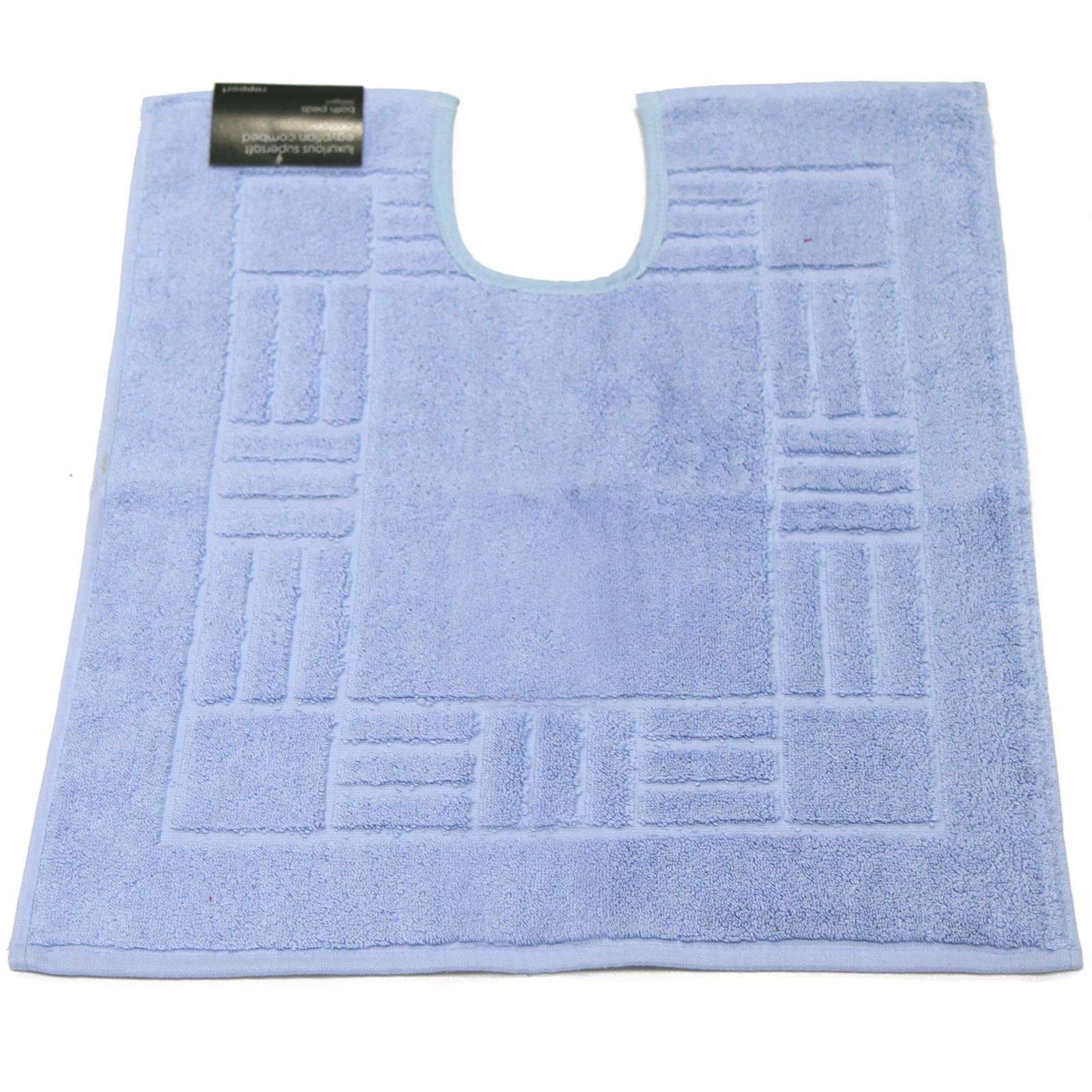 100 Egyptian Cotton Pedestal Mats Super Soft Washable