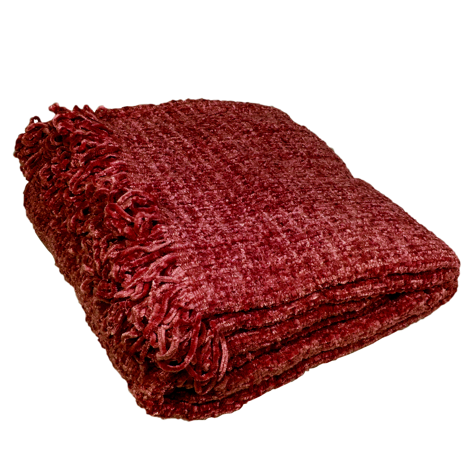 Luxury Chenille Throw Warm Thermal Woven Throw Over Sofa