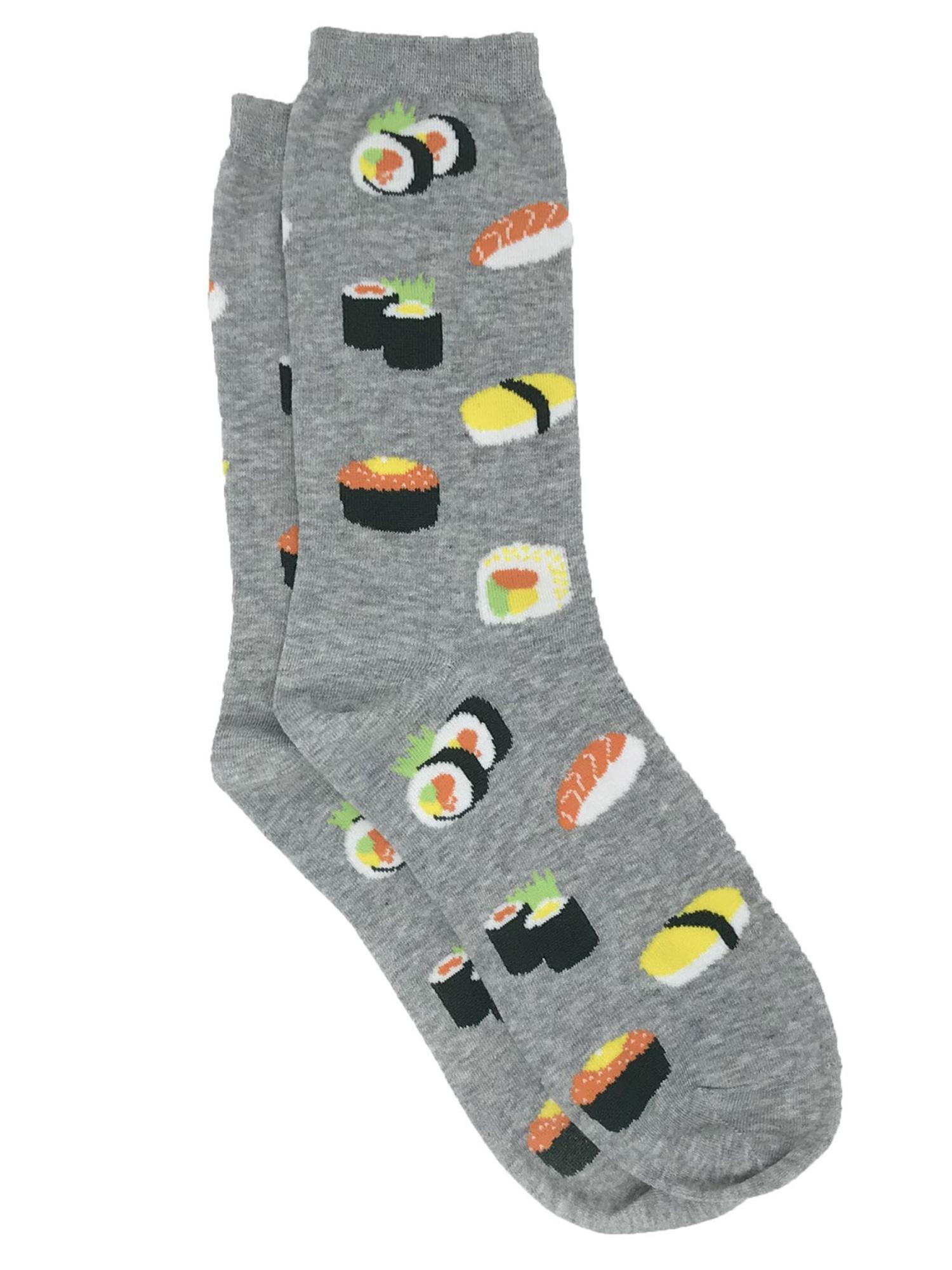 Novelty Slogan If You Can Read This Bring Me Sushi Christmas Stocking Xmas Socks