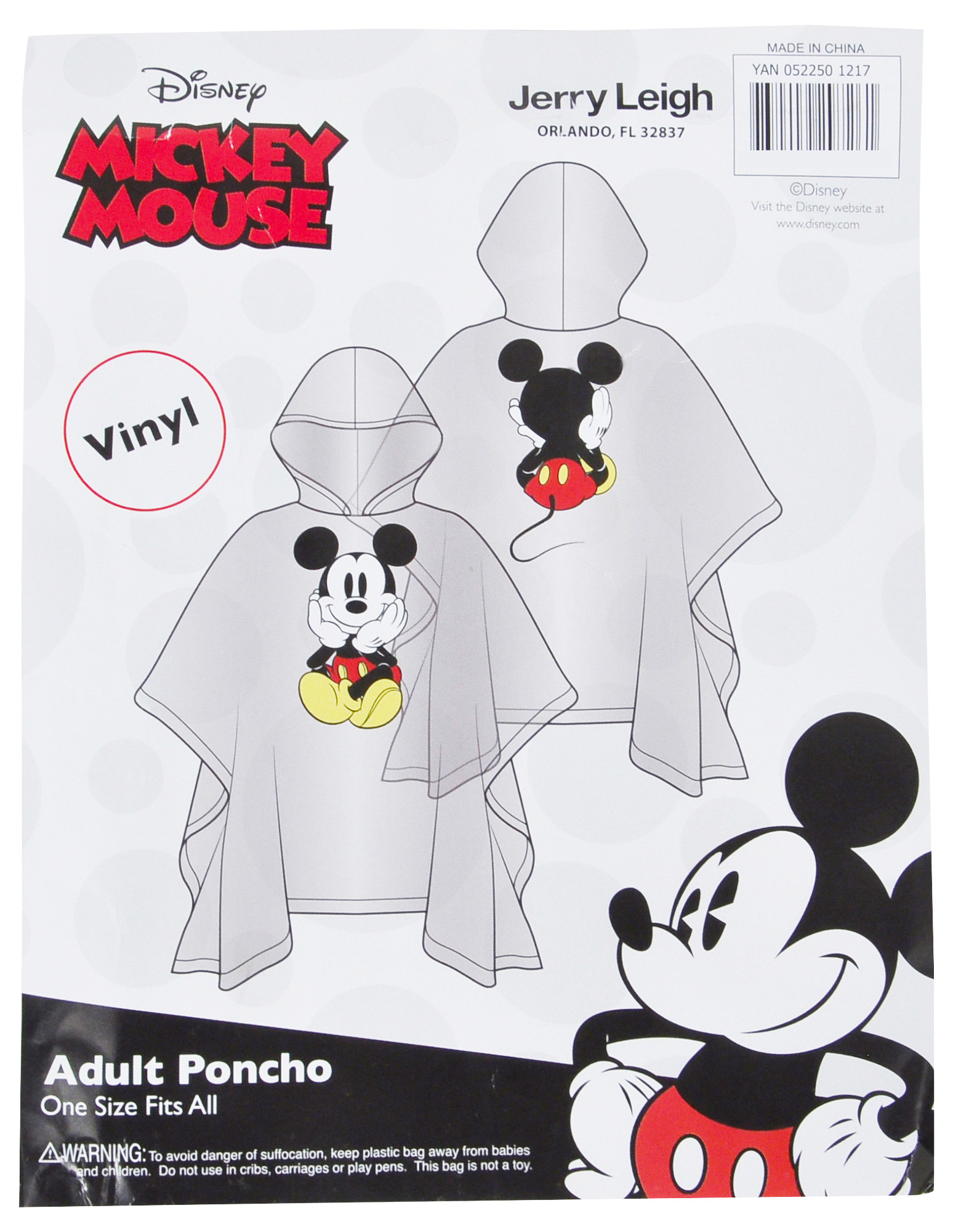 Adult-Kids-Unisex-Mickey-Mouse-Rain-Ponchos-4-PACK-Front-Back-CHOOSE thumbnail 15