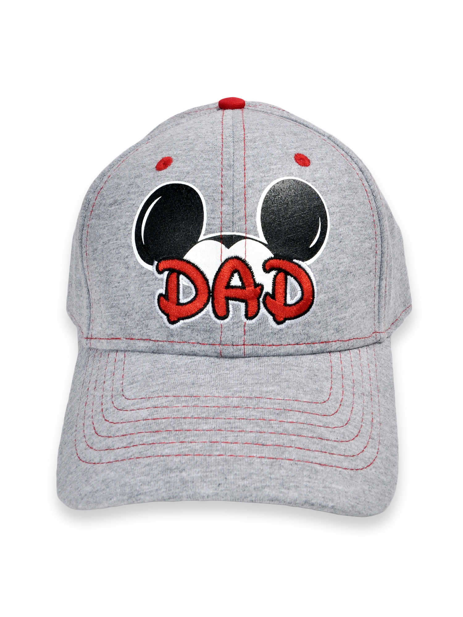 Men s Mickey Mouse Dad Gray Baseball Hat Cap 732409732021  8eceb430683