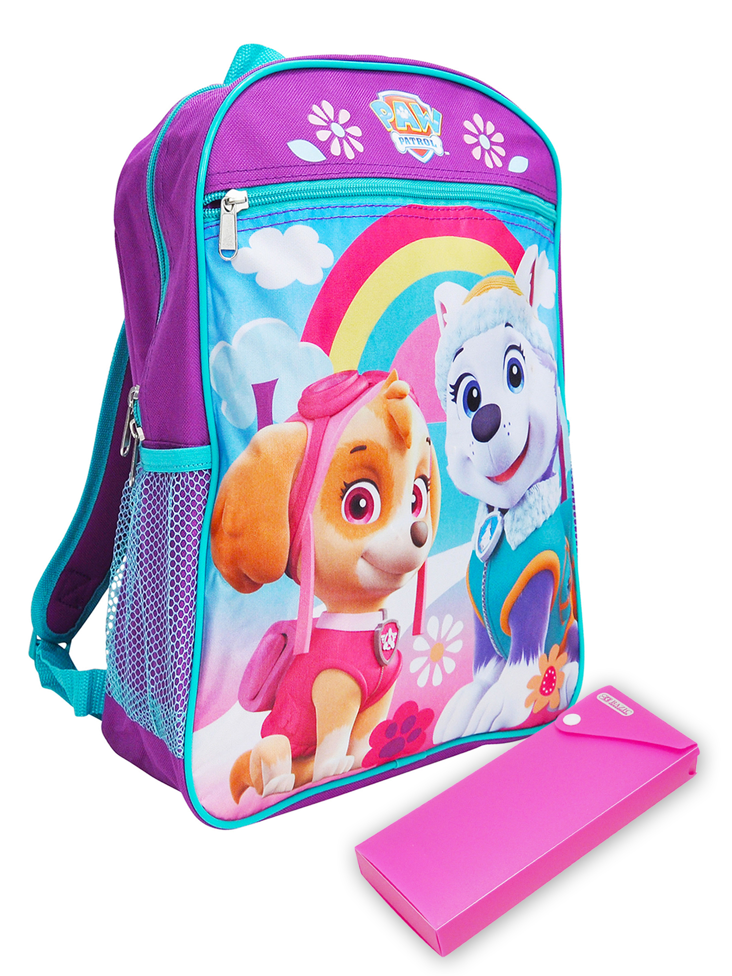Boys-Girls-Backpack-15-034-amp-Pencil-Case-Paw-Patrol-Disney-Marvel-CHOOSE thumbnail 7