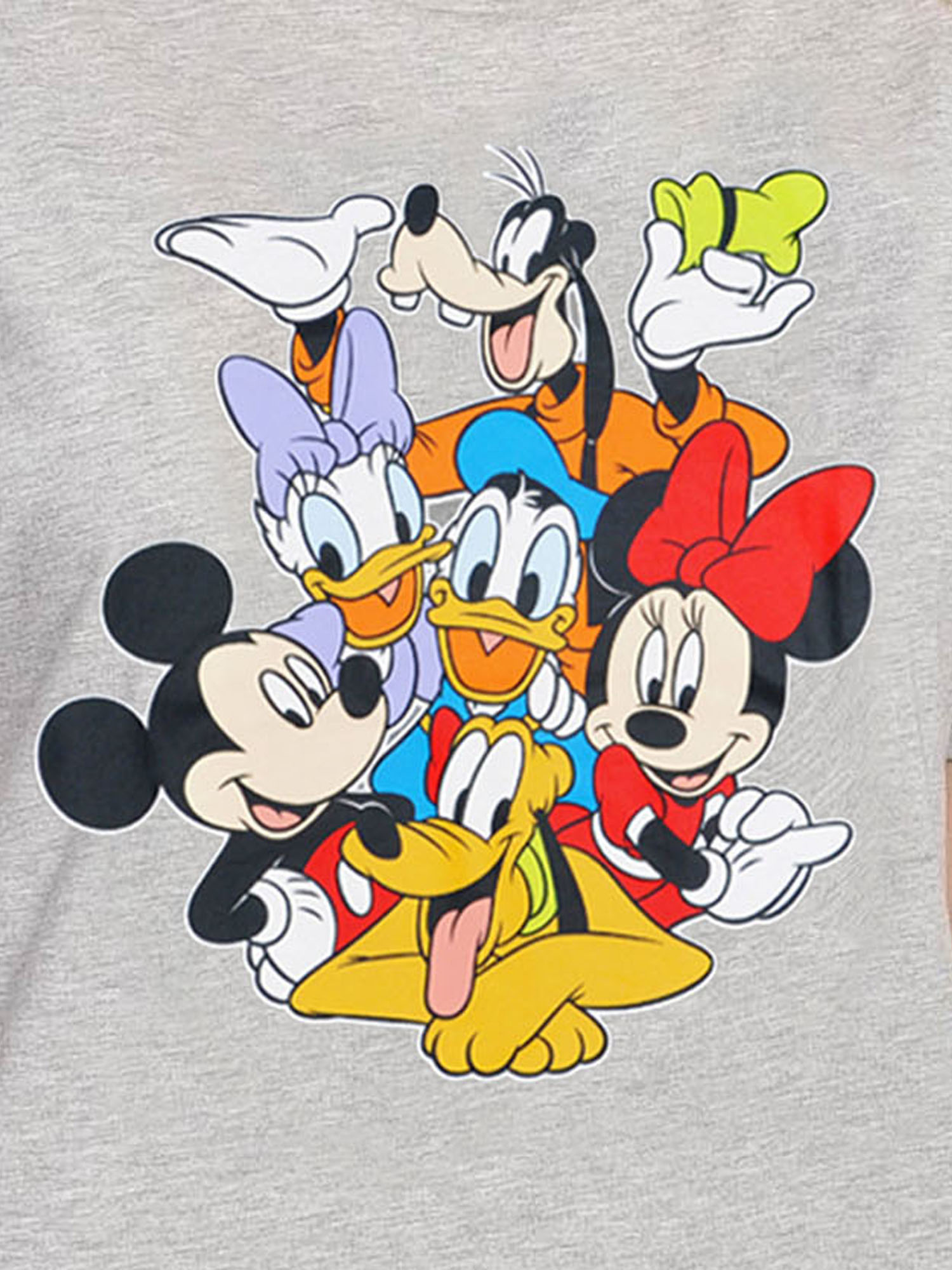 21f97f2114a90 Plus Size Mickey Mouse   Friends T-Shirt Gray Minnie Daisy Pluto -  SHOPitFashion